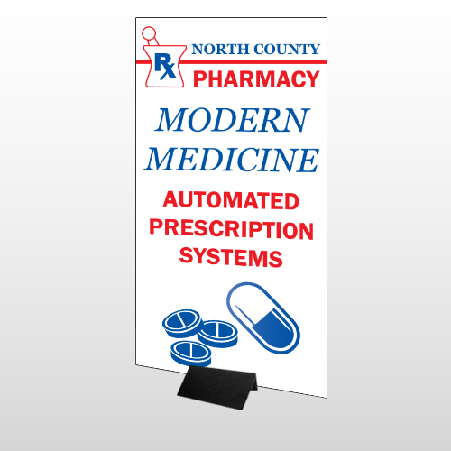 Pharmacy 101 Stand Up Display