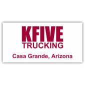 K-Five Trucking Magnetic Sign - Magnetic Sign