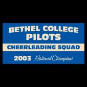 Bethel College Pilots Cheerleading Squad