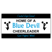 Central High School Blue Devil Cheerleader