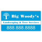 Big Woody's Landscaping Company Magnetic Sign - Magnetic Sign
