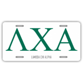 Lambda Chi Alpha License Plate