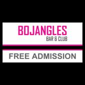Bojangles Bar & Club Vinyl Banner