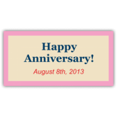 Happy Anniversary! August 8th, 2013