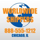World Wide 329 Truck Lettering