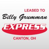 Grumman 340 Truck Lettering