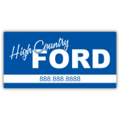 High Country Ford Vinyl Banner