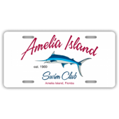 Amelia Island Swim Club License Plate