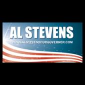Al Stevens For Governor Sign - Magnetic Sign