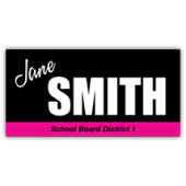Jane Smith Political Sign - Magnetic Sign