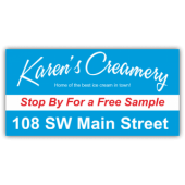 Karen's Creamery Magnetic Sign - Magnetic Sign