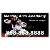 Martial Arts Academy Magnetic Sign - Magnetic Sign