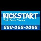 Kickstart Soccer Training Magnetic Sign - Magnetic Sign