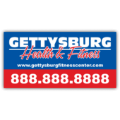 Gettysburg Fitness Center Magnetic Sign - Magnetic Sign