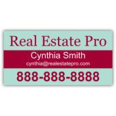Real Estate Pro Vinyl Banner