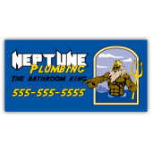 Neptune Plumbing Magnetic Sign - Magnetic Sign
