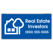 Real Estate Investors Vinyl Banner
