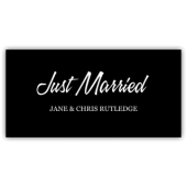 Just Married Magnetic Sign - Magnetic Sign