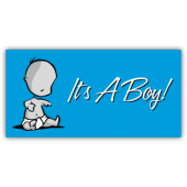 It's a Boy Magnetic Sign - Magnetic Sign