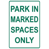 Marked Spaces Only