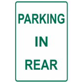 Parking In Rear