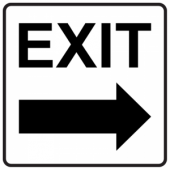 Exit Right- Square