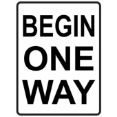 Begin One Way