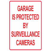 Garage Is Protected By Surveillance Cameras