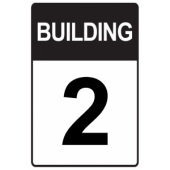 Black Custom Building Number
