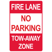 Fire lane - No Parking