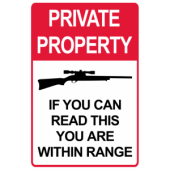 Private Property In Range
