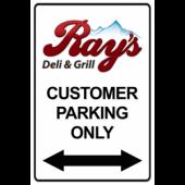 Your Customer Parking - Double Arrow