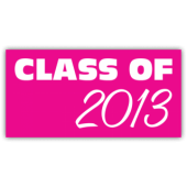 Class of 2013 Magnetic Sign - Magnetic Sign