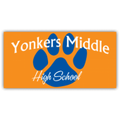 Yonkers Middle High School Magnetic Sign - Magnetic Sign