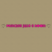 Princess 238 Wall Lettering