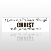 All Christ 212 Bumper Sticker