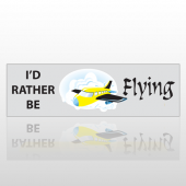 Be Flying 19 Bumper Sticker