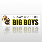 Big Boys 169 Bumper Sticker