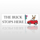 Buck Stop 136 Bumper Sticker