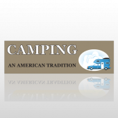Camping 22 Bumper Sticker