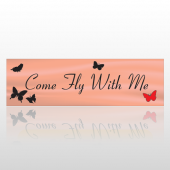 Come Fly 69 Bumper Sticker