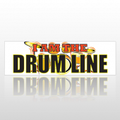 Drumline 173 Bumper Sticker