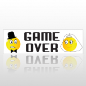 Gameover 221 Bumper Sticker