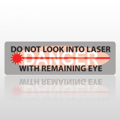 Laser 182 Bumper Sticker