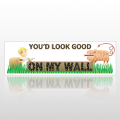 My Wall 250 Bumper Sticker