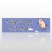 Pigs Fly 248 Bumper Sticker