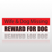 Reward Dog 193 Bumper Sticker
