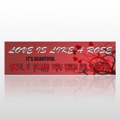 Rose Thorns 223 Bumper Sticker