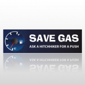 Save Gas 233 Bumper Sticker