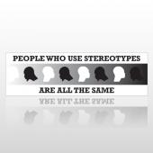 Stereothype 235 Bumper Sticker
